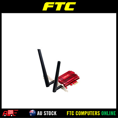 ASUS PCE-AC56 802.11ac Dual-band Wireless AC1300 PCI-E Adapter AU STOCK