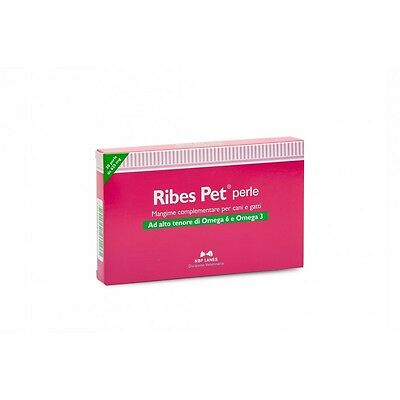 Ribes Animal De Compagnie 30 Perles Omega 3 Omega 6 Nbf Lanes Pour Dermatite