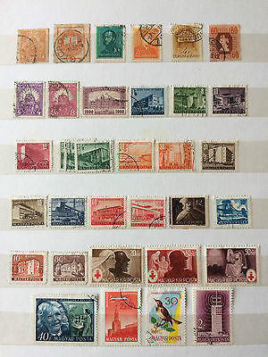 HUNGARY small collection from various era's.