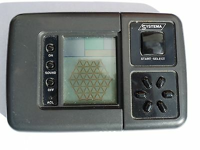 Vintage Galileo's Solitaire Electronic Handheld Game by Systema in Working Order