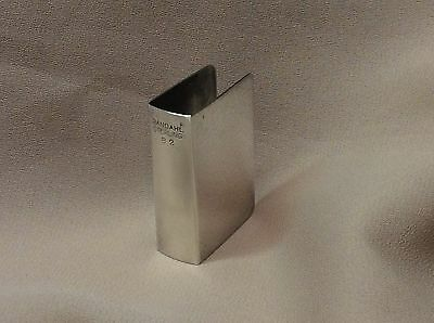 Vintage Sterling Silver Match Keep Box - Randahl Silver, Chicago - #82