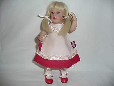 Beautiful Gotz Cara Doll Tagged All Original Dress Shoes Vintage Limited Edition