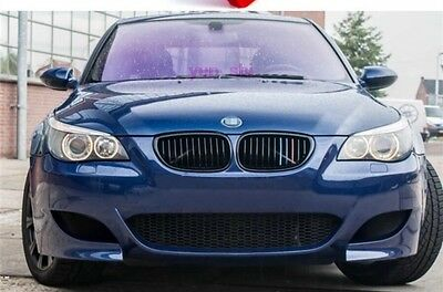 BMW E60 E61 5-Series M-Sport Kidney Grill Grille Panel ///M Coloured Trims Clips
