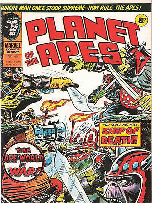 Planet Of The Apes 49 British Marvel Comic