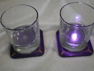 Crown Royal 3 D Collectors Light Up Whiskey Glasses Set Up 2