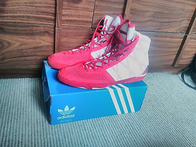 Adidas Boxing Shoes Red Size 11