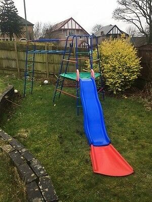 Early Learning Centre Climbing frame, slide with extension and extension ladder