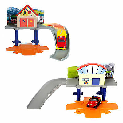 """Fireman Sam Mini Rescue Playset With 3"""" Vehicle Toy Car Construction Set Age 3+"""