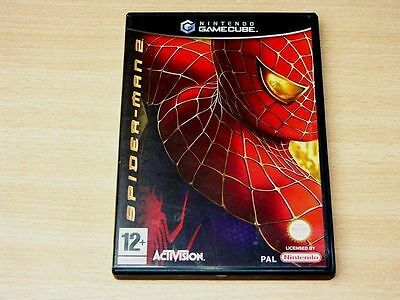 Wii Gamecube Game Version Of Spider-Man 2 Complete