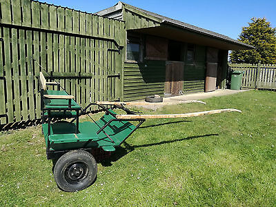 pony exercise cart with box springs