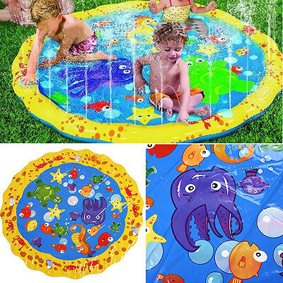 Baby Inflatable Pad Play Summer Baby Activity Water Mat Toy Child Pool Swimming