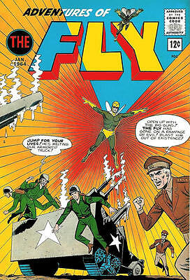 Adventures Of The Fly 29 Archie American Comic + Free Hellium Balloon
