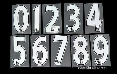 Premier League 2015/16 PS-Pro football Short Numbers 0-9 Player Issue