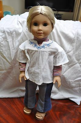 "American Girl Doll Julie 18"" RETIRED OUTFIT"