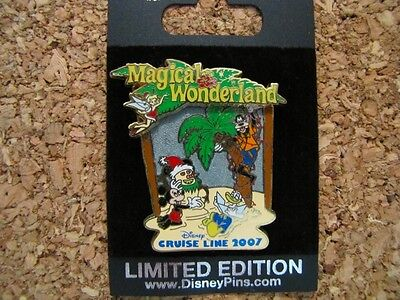 Disney Cruise Line DCL LE 750 Trading Pin - Christmas Magical Wonderland - 58943