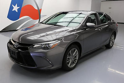 2016 Toyota Camry  2016 TOYOTA CAMRY SE REARVIEW CAM ALLOY WHEELS 24K MI #182491 Texas Direct Auto