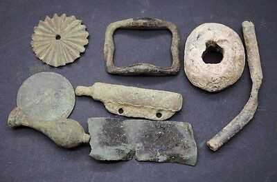 Interesting Mixed Lot Of Detector Finds