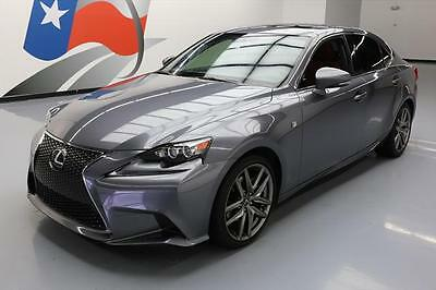 2015 Lexus IS  2015 LEXUS IS250 F-SPORT RED CLIMATE SEATS SUNROOF 28K #049527 Texas Direct Auto
