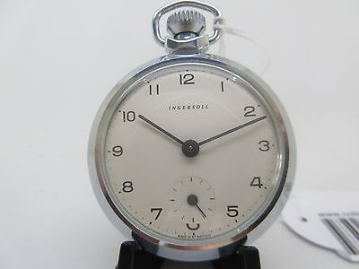 Ingersoll Vintage Pocket Watch - (With Optional Servicing At A Special Rate)