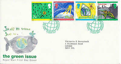 15 SEPTEMBER 1992 GREEN ISSUE ROYAL MAIL FIRST DAY COVER TORRIDON SHS (a)
