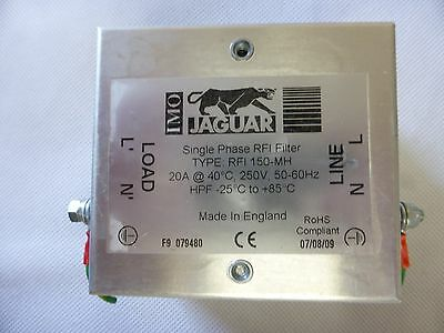 IMO Jaguar single phased RFI filter.12 months warranty.Repair service available