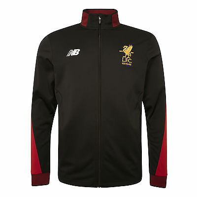 Liverpool F.C. LFC Junior Black Training Presentation Jacket 17/18  Official