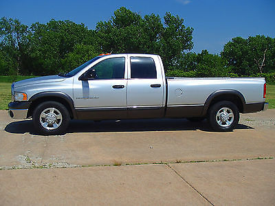 2004 Dodge Ram 2500 ST DODGE RAM 2500 QUAD CAB WITH LONG BED. 5.9 HIGH OUTPUT CUMMINS ABSOLUTE SALE!