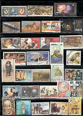 Malta Stamps used lot