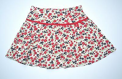 Gymboree Cherry Cute 8 Floral Knit Skort Skirt Fall BTS 4th of July EEUC
