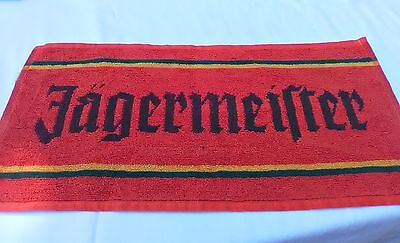 JAGERMEISTER BAR TOWEL New  Free Shipping