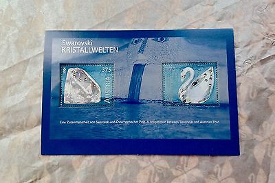 Swarovski Retired 2004 AUSTRIAN POSTAGE STAMPS - International Exclusive