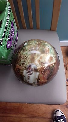 Brunswick Vis A Ball STAR WARS  R2-D2 C-3PO  Undrilled  Bowling Ball