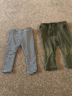 Zara Girls Leggings 12-18 Months