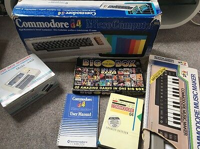 Commodore 64 Computer Vintage computer With Accessories