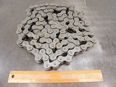 """RC-80 Standard Roller Chain with Master Link ANSI 80-1RX10FT 10' Roll 1"""" Pitch"""