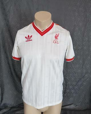 Liverpool 1985-87 away shirt soccer jersey camiseta maillot size M (97-102) #10