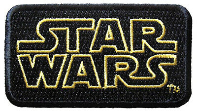 Star Wars Yellow Outline Logo Iron-On Patch