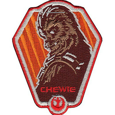 Star Wars Chewbacca Side View Head Iron-On Patch
