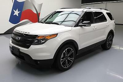 2015 Ford Explorer Sport Sport Sport Utility 4-Door 2015 FORD EXPLORER SPORT AWD ECOBOOST PANO ROOF NAV 12K #B18310 Texas Direct