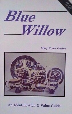 Blue Willow Id Value Guide Collectors Book