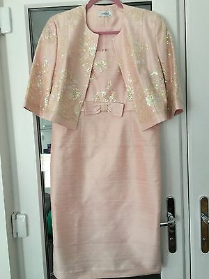 Condici Mother Of The Bride/groom  Dress And Jacket Size 14 Pink