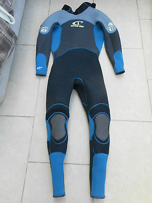 Circle One 5.3 Mm - 8 Degrees Heavy Duty Surf Full Wetsuit Mens Large