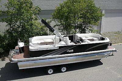 2685 Tmltz Cruise quad lounger tritoon pontoon boat