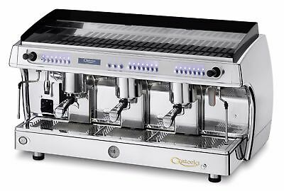 Astoria Gloria Automatic 3-Group Espresso Coffee Cappuccino Machine SAE 3 CHROME