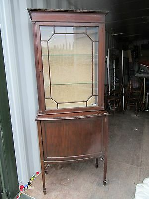 Edwardian Display Cabinet/estate Clearance Please Look