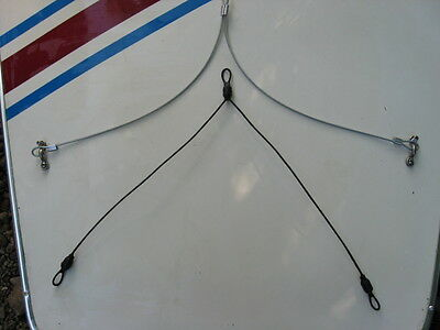 NEW Sunfish sailboat std. bridle cable w/3 loops