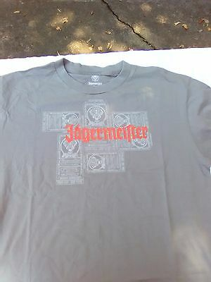 JAGERMEISTER Gray T-SHIRT Medium, Rare