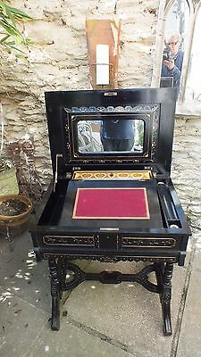 19th Century Aesthetic ladies work table/desk