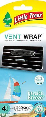 Little Trees Vent Wrap 4-Pack Bayside Breeze