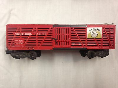 AC Gilbert American Flyer 24007 195 Northern Pacific Pig Palace